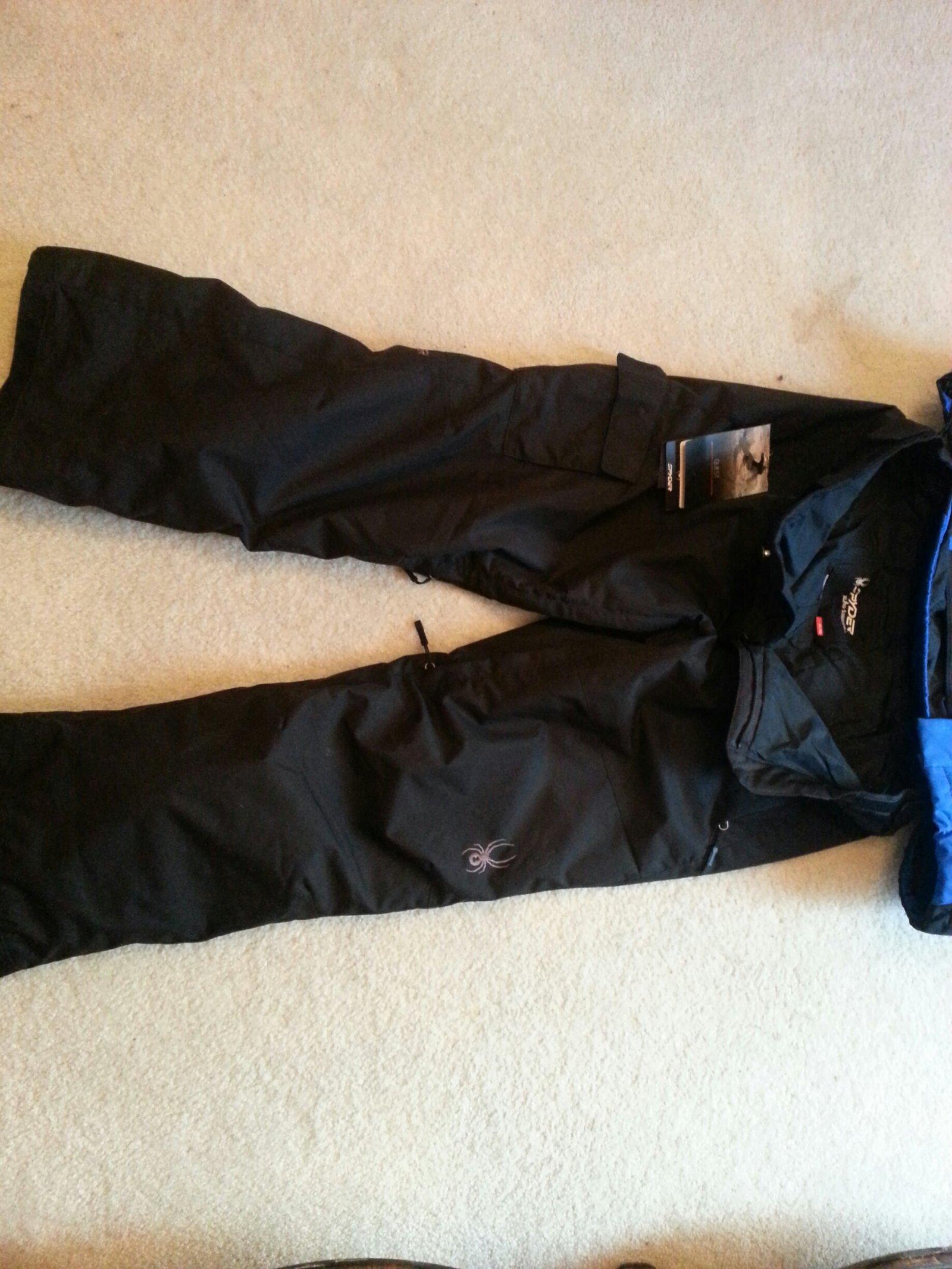 Spyder Pants Front