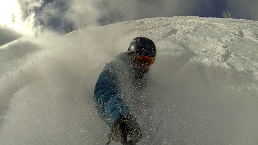 Hugging the Pow Cloud