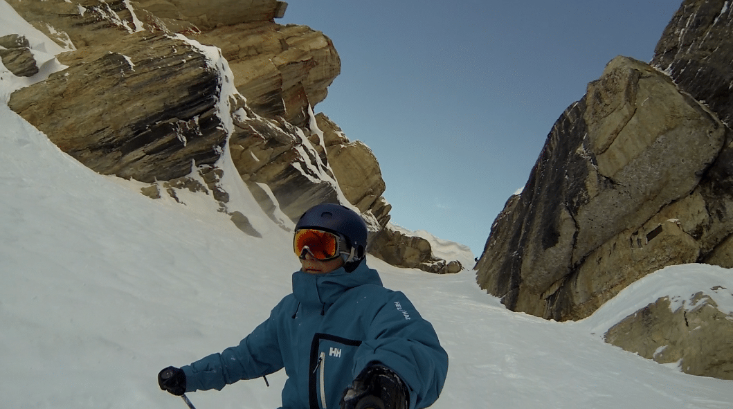Up the Couloir