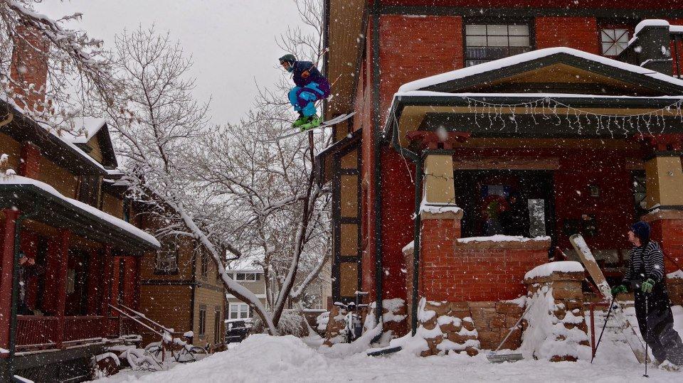 Huckin roofs in Boulder