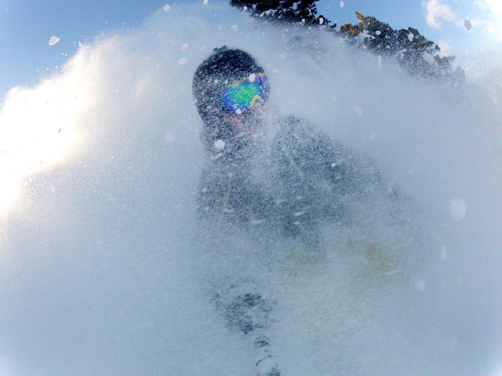 Snowbasin Pow Day