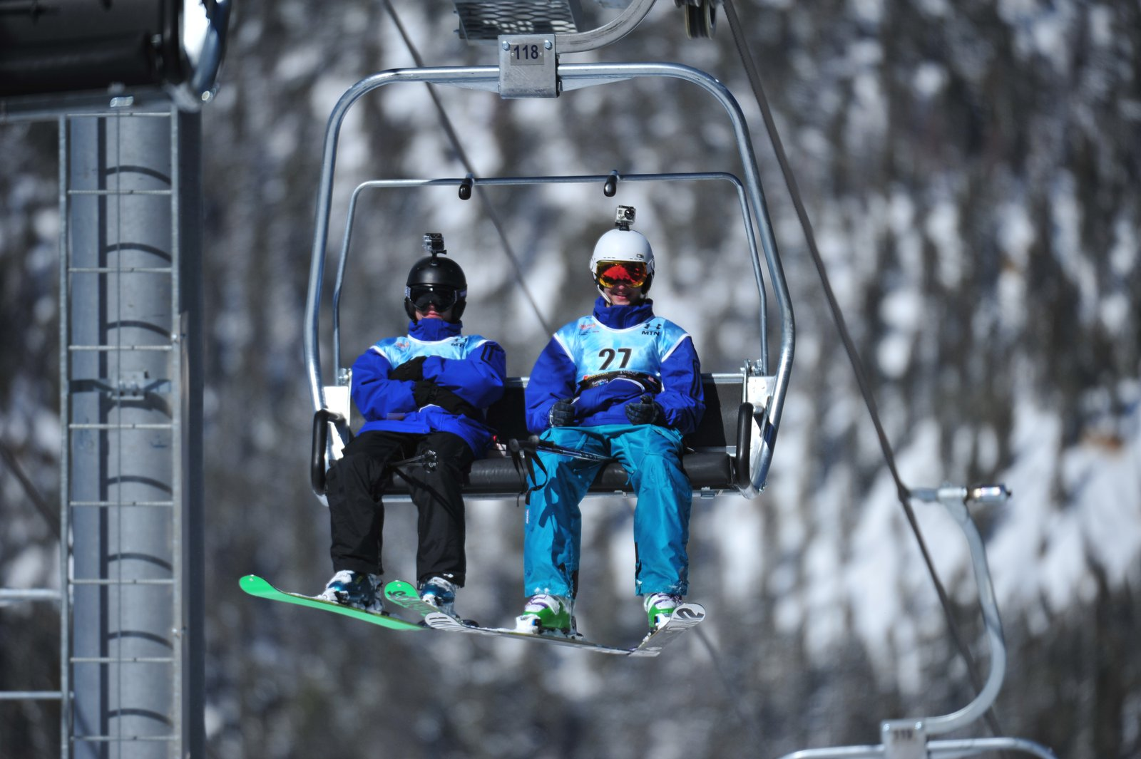 Riding up for slopestyle