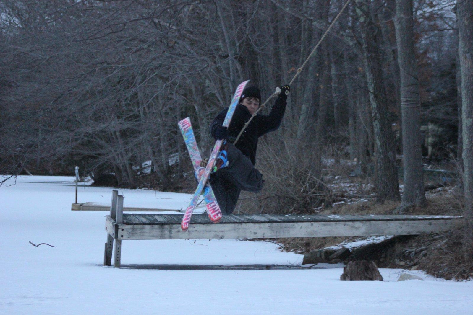 Ropeswing Skiing