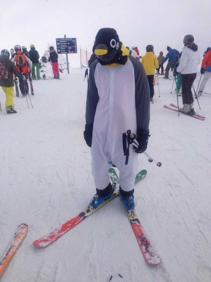 Carnival Day - Dress up when ski instructing