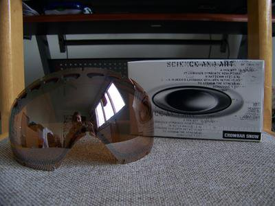 FS: Black iridium crowbar lens