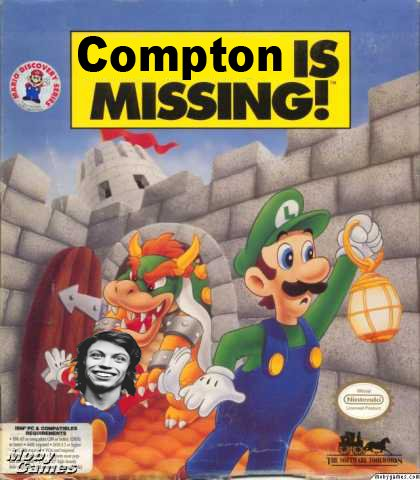 compton is missing