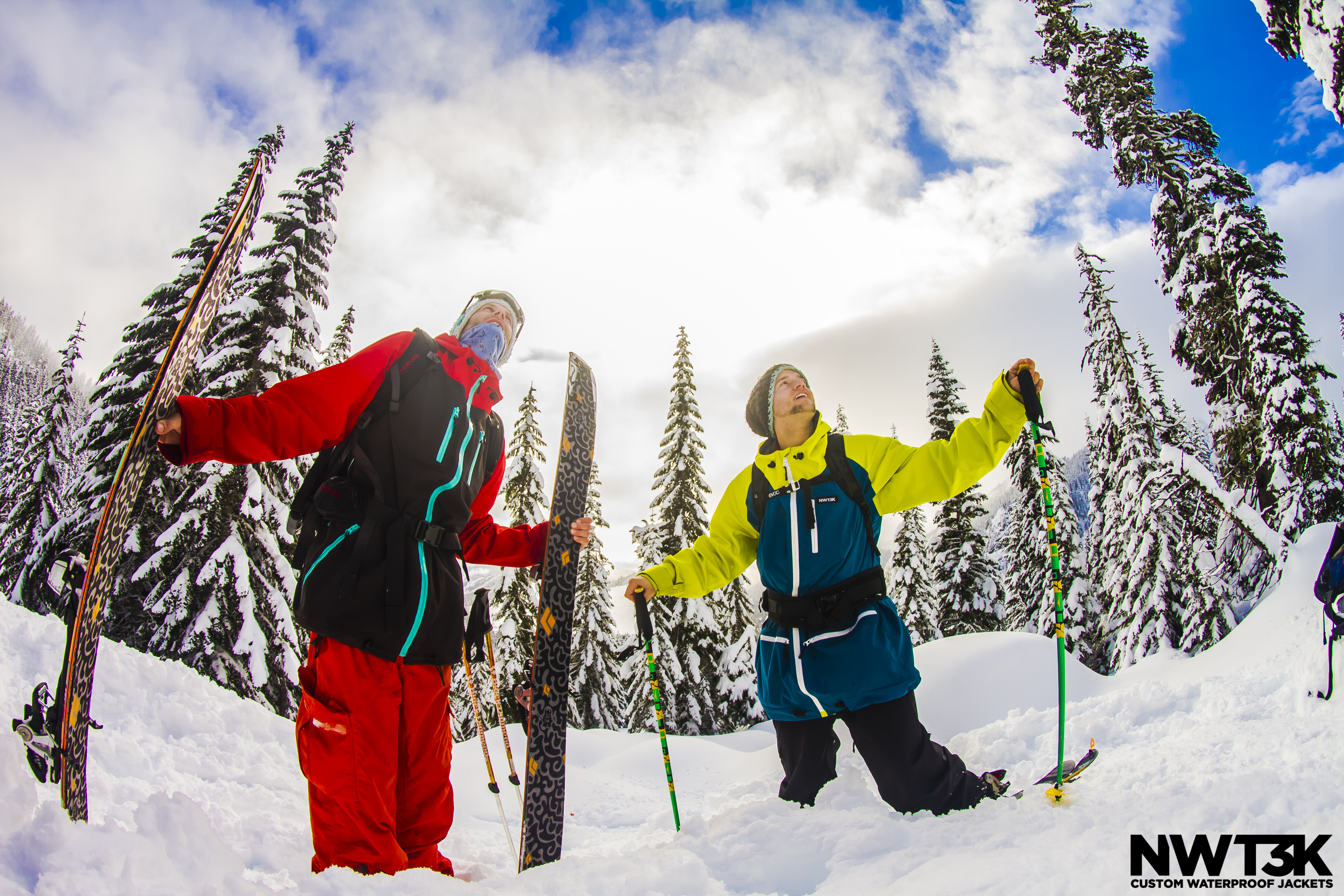 Loving life in the Alpental BC