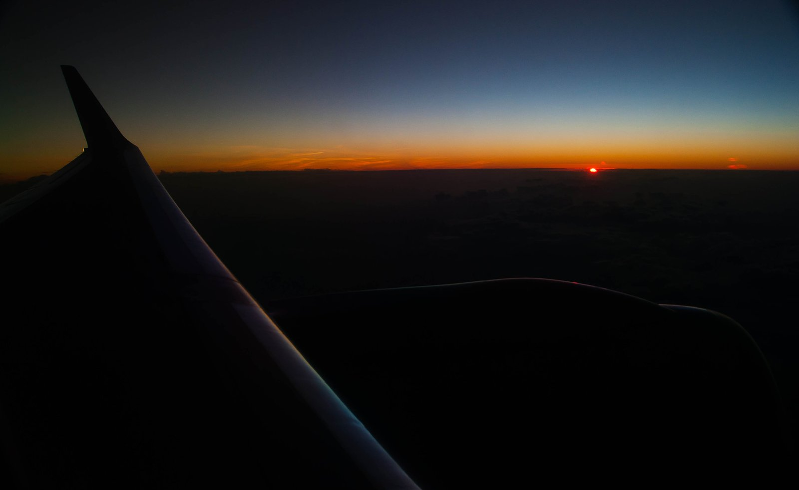 Airbourne Sunset