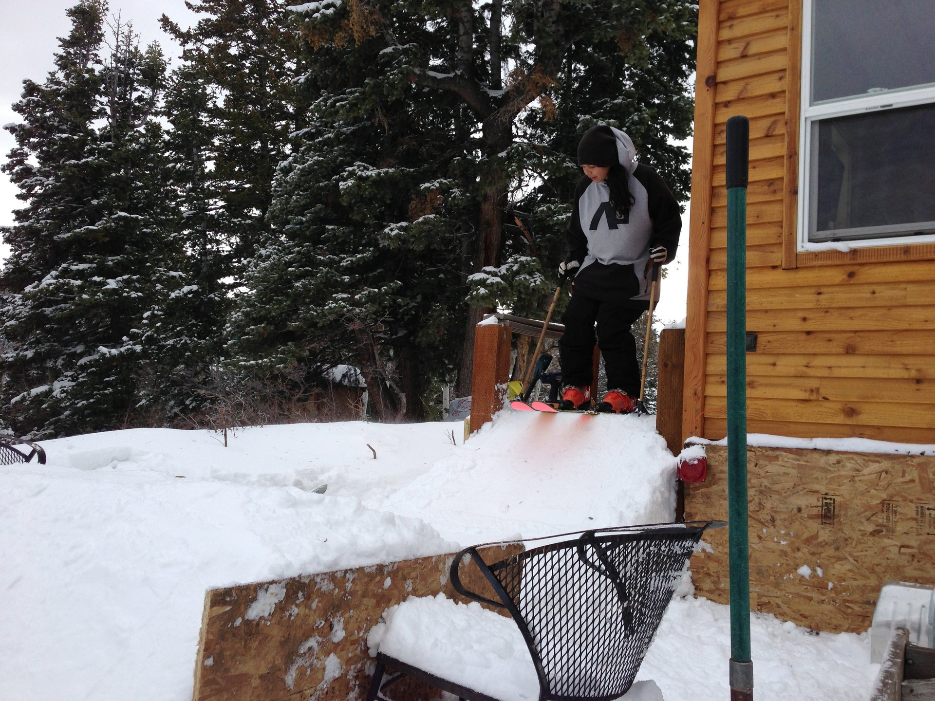 Dropping into my funline