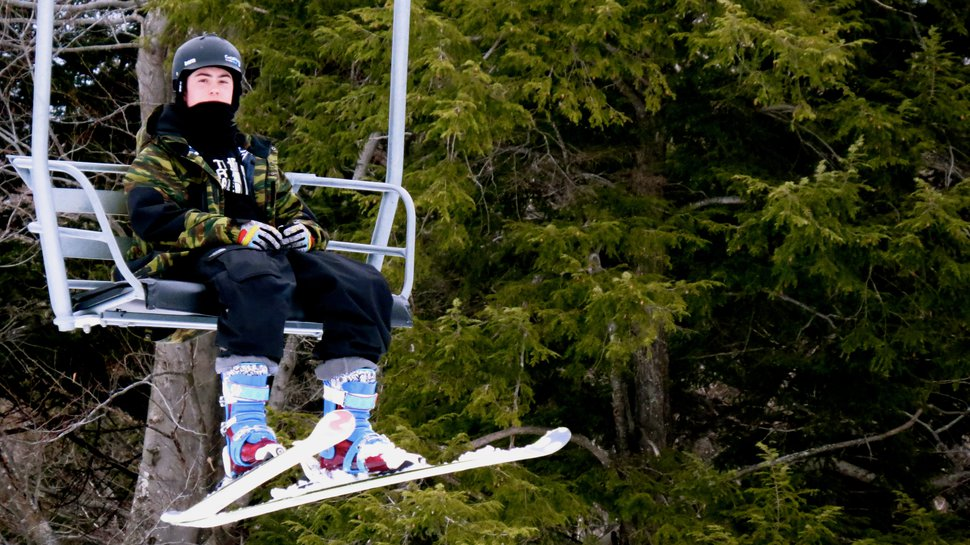 Chairlift chillin'