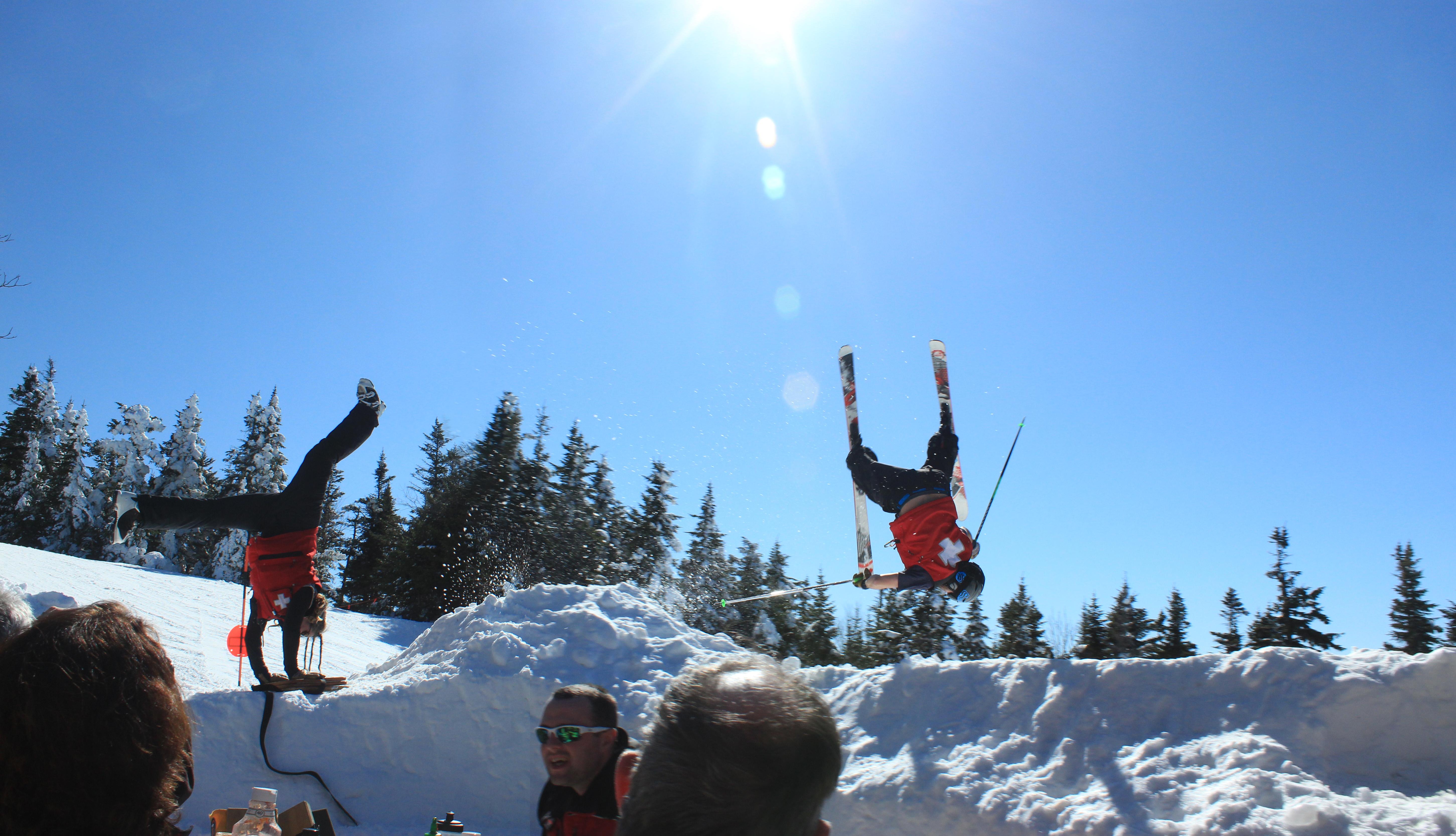 Ski Patrol Spring Shenanigans.