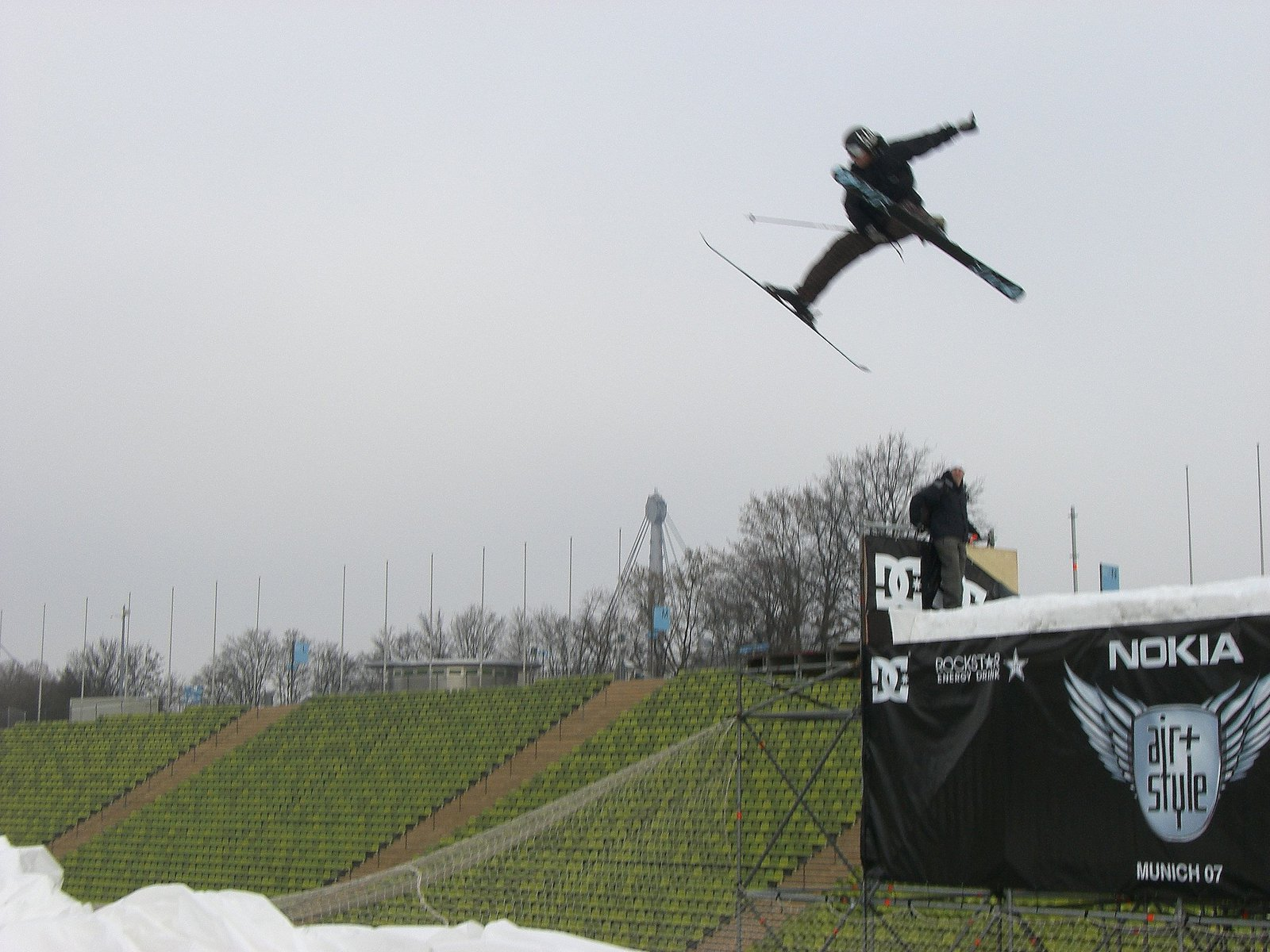 saluting the air&style jump