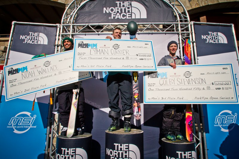 The North Face Park and Pipe Open Northstar Recap