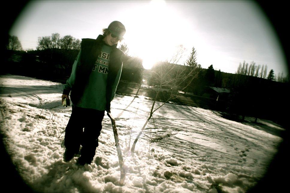 broke ski
