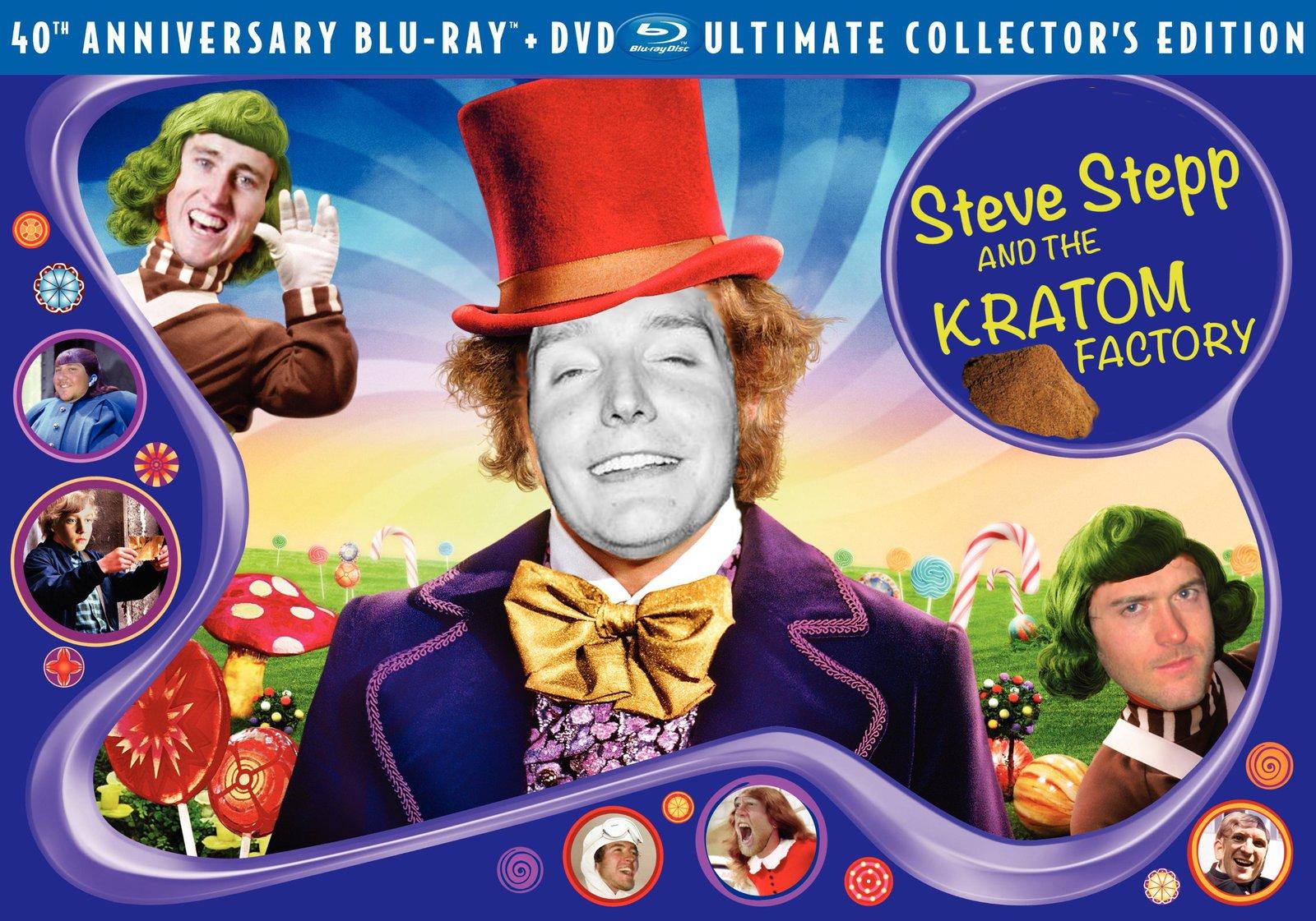 Steve Stepp and the Kratom Factory