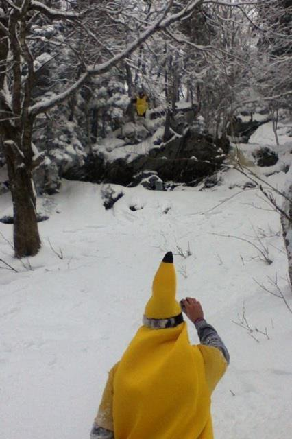 Bananas in the backcountry