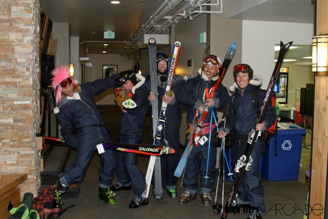 The SKINNY Ski-A-Thon at Squaw Valley is April 1, 2013