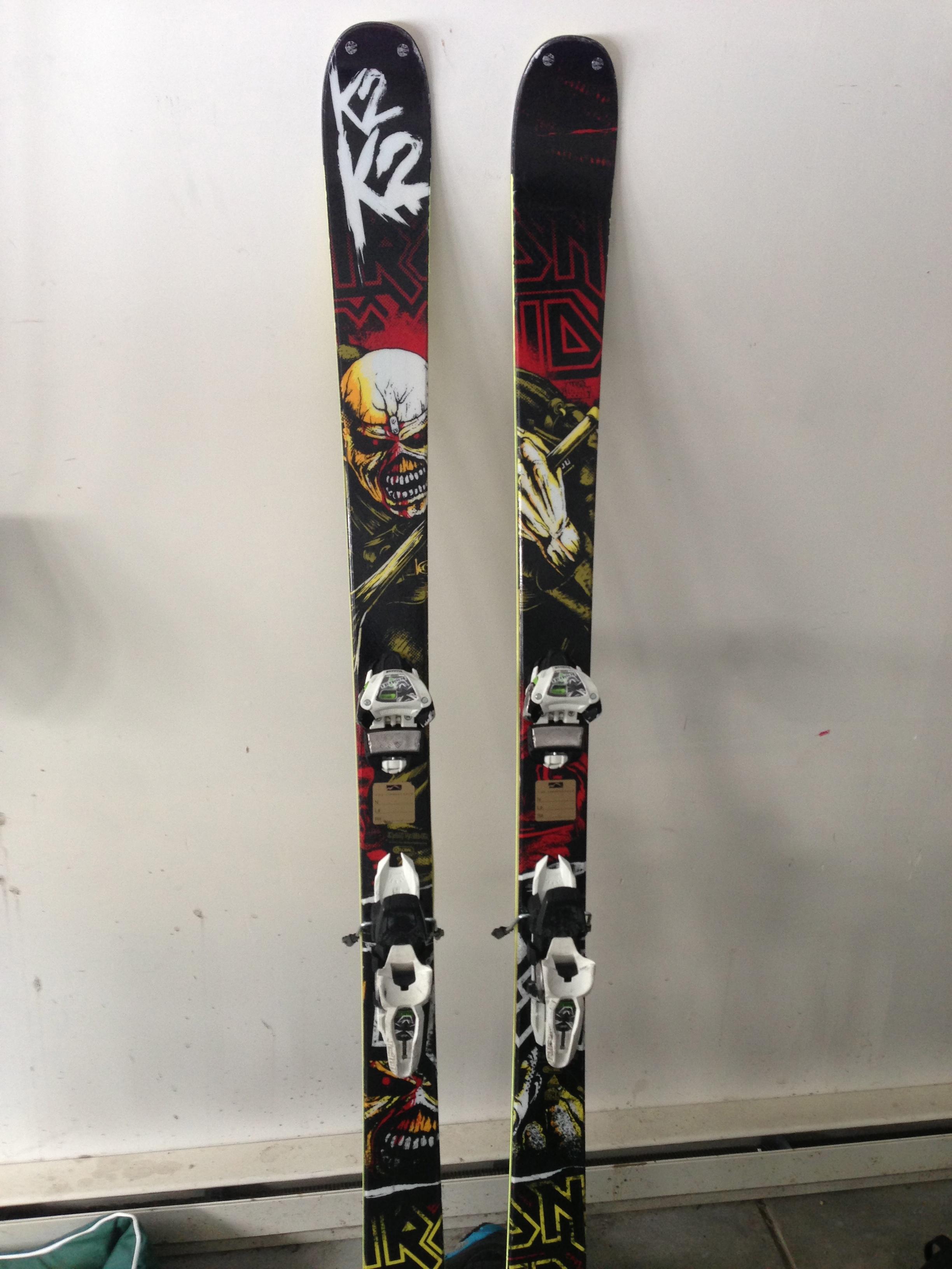 FS: 2012/2013 K2 Iron Maidens