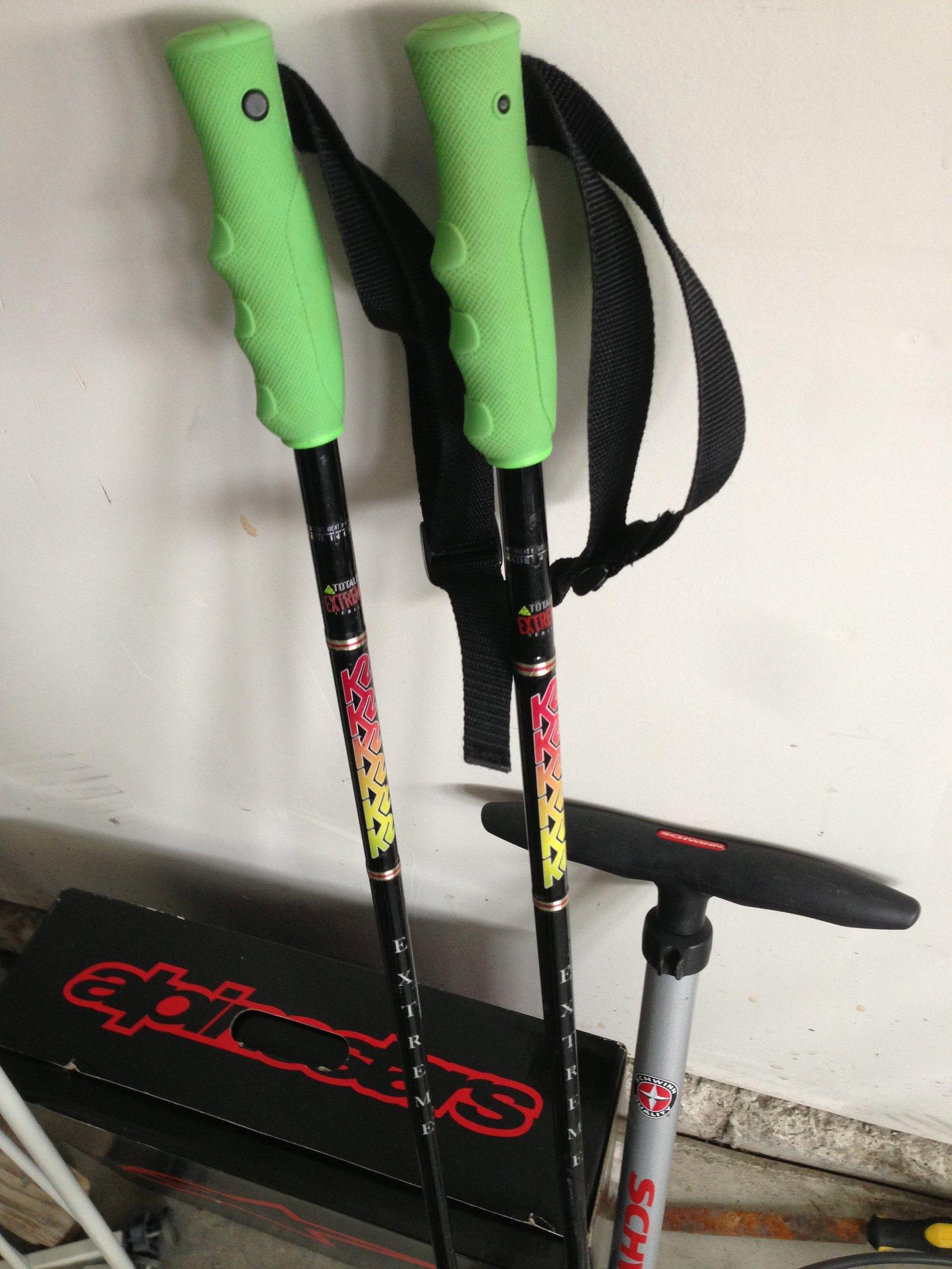 FS: K2 EXTREME poles.