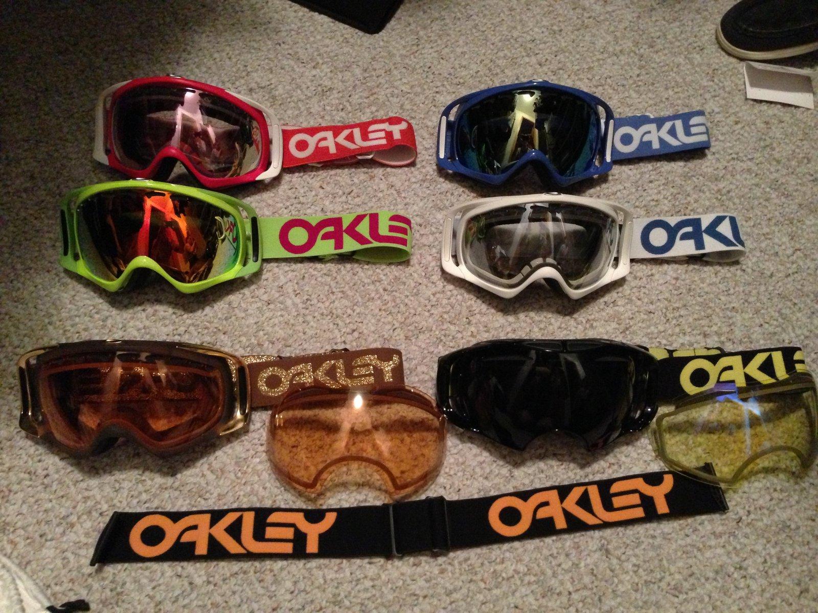 Oakley retro collection