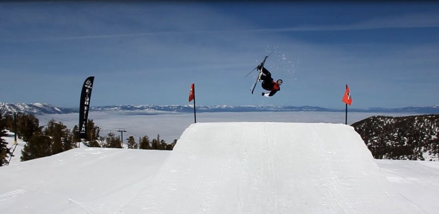 Flatspin above an Inversion