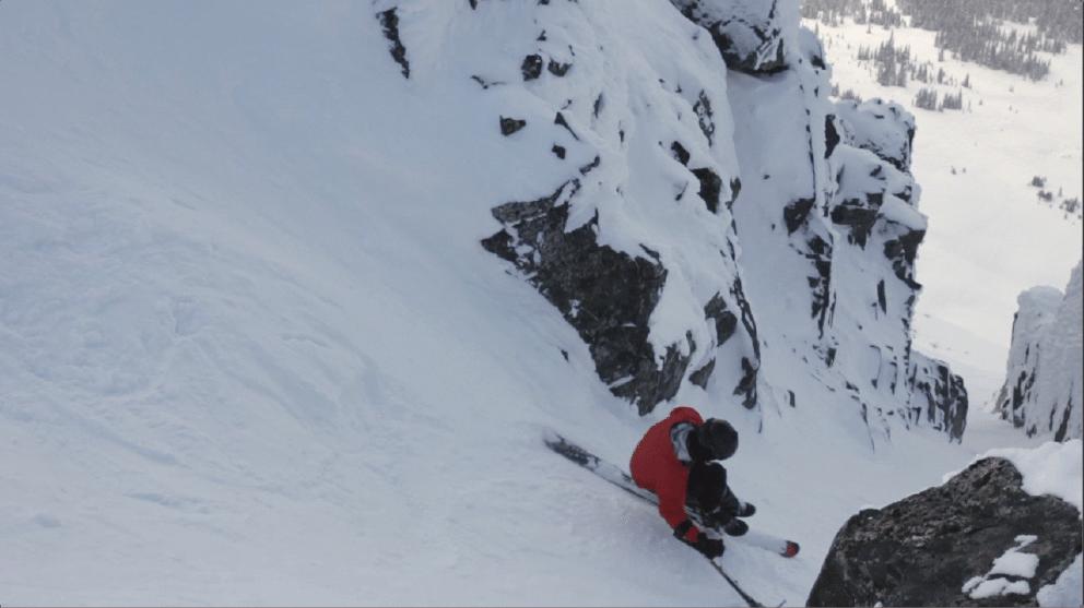 D.O.A. on a Sit Ski w/ Alex Cairns