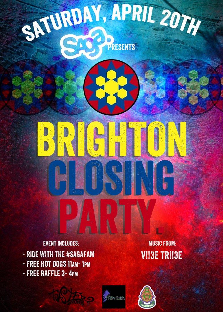 Shut it down @ Brighton