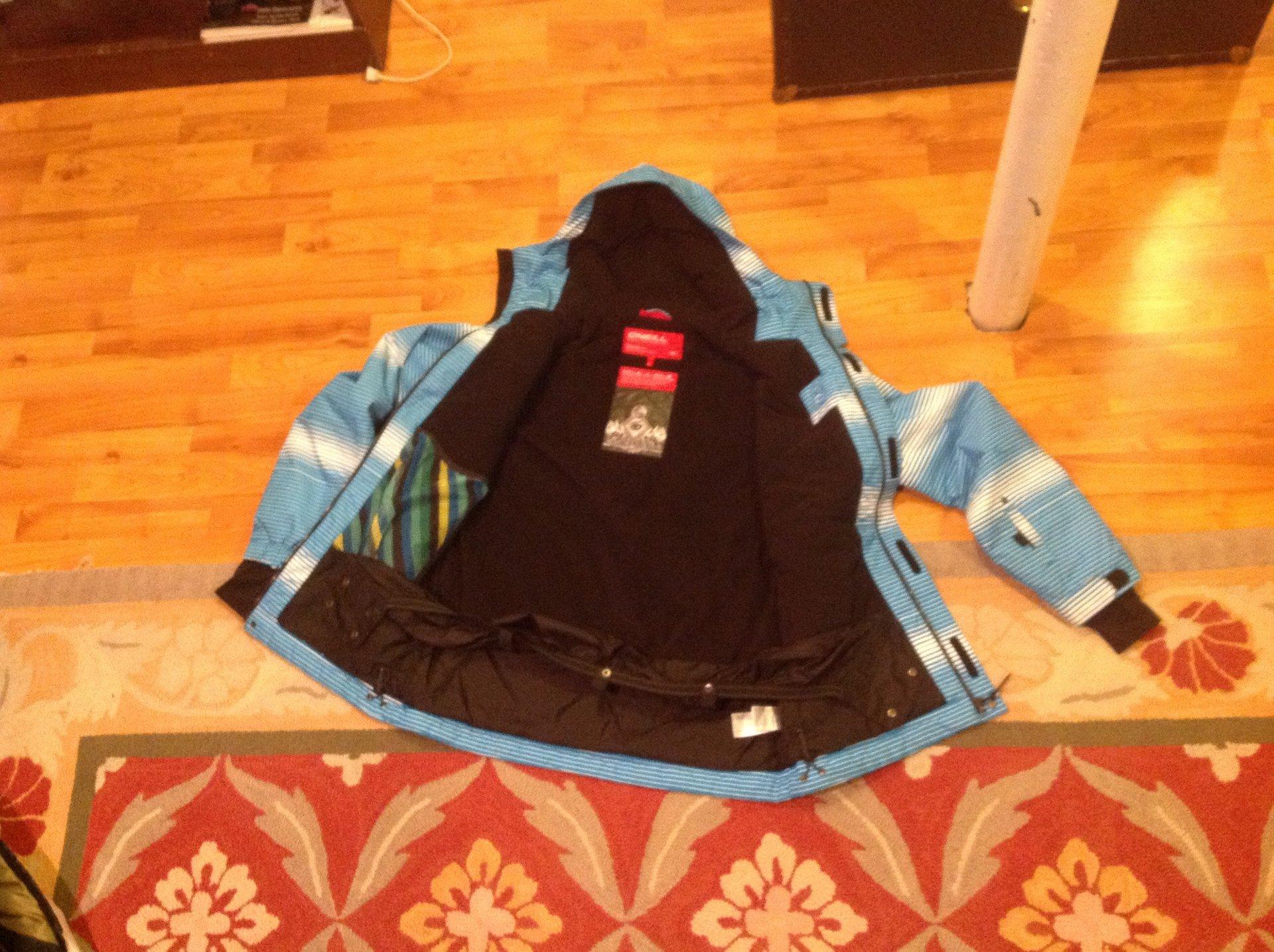 O'Neill jacket inside