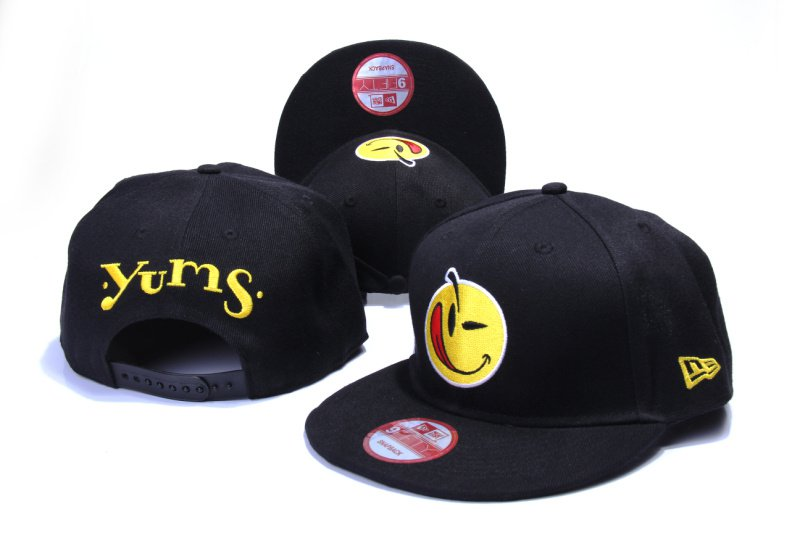 YUMS new era 9fifty Snapback Caps & Hats black red-xsj025