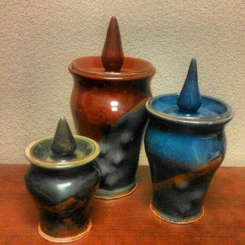 Lidded Jar Set