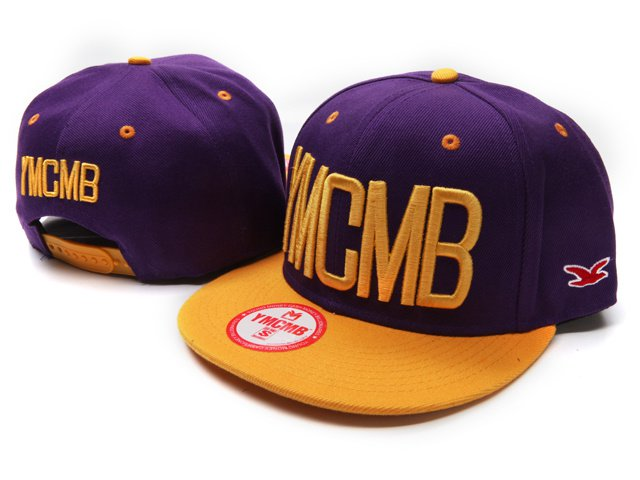 YMCMB Snapback Hats Purple