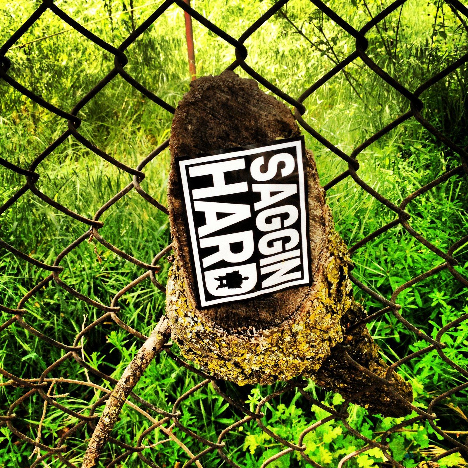 SAGGIN HARD outdoors