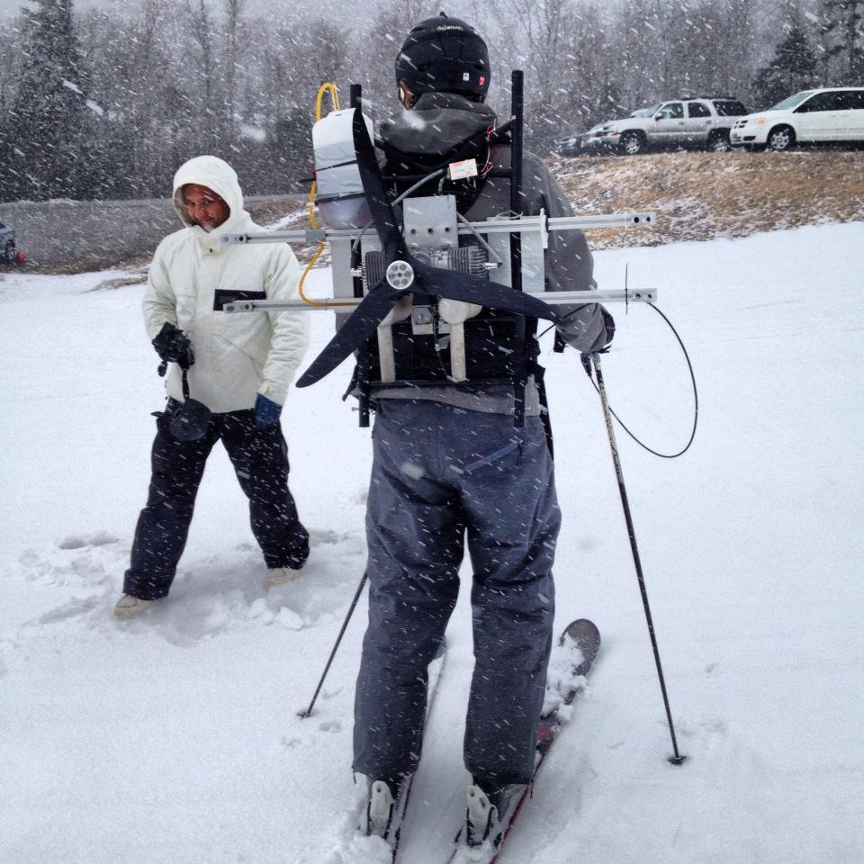 Propeller Skiing
