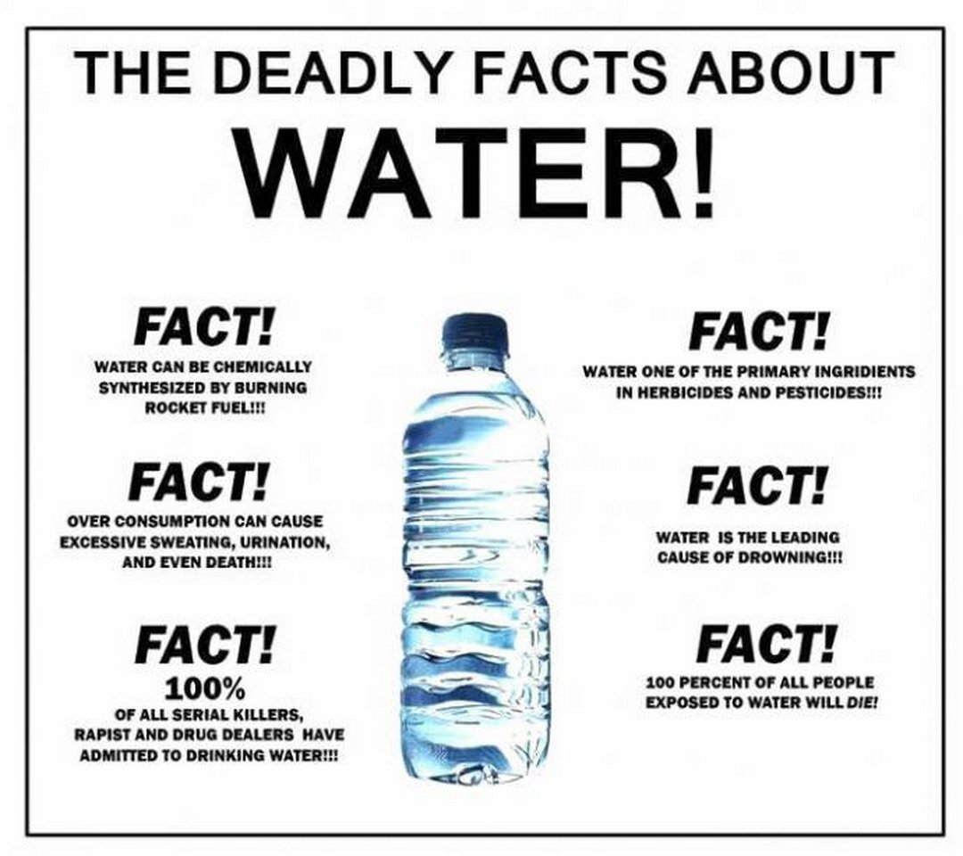 THE DEADLY FACTS OF WATER