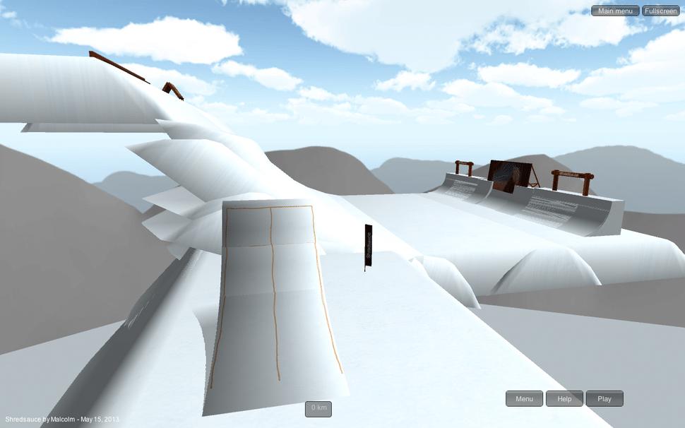 shredsauce slope 6