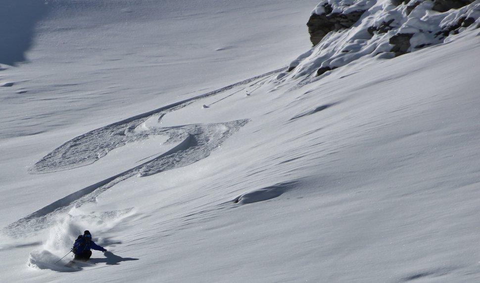Little line in zermatt