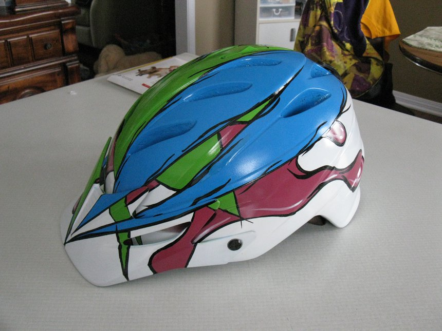 Helmet Left side