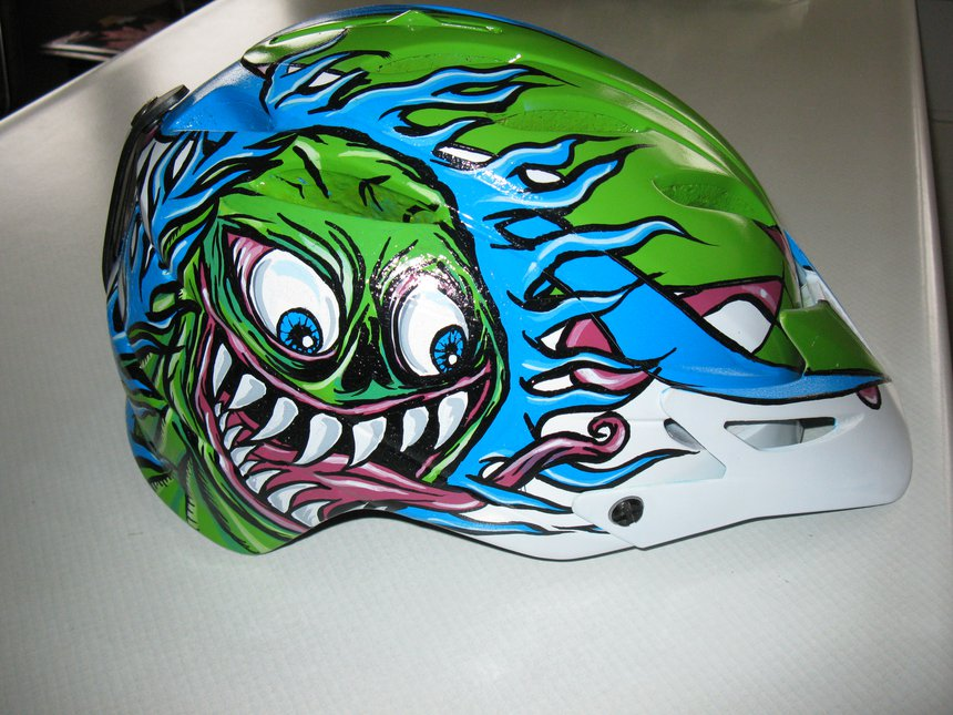 Helmet Right side