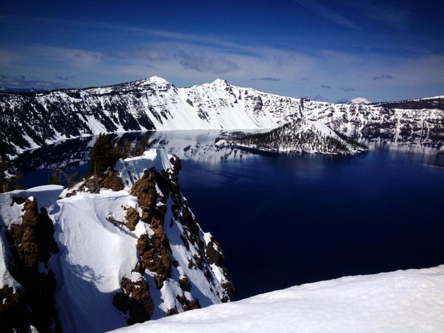 Got a ticket for skiing the caldera!