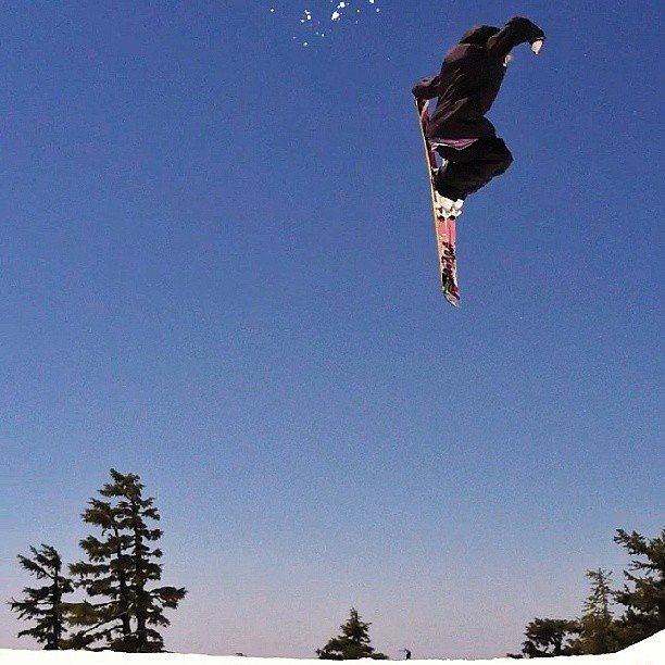 timberline and tail grabs