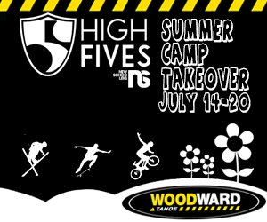 High Fives Foundation Summer Camp Takeover at Woodward Tahoe