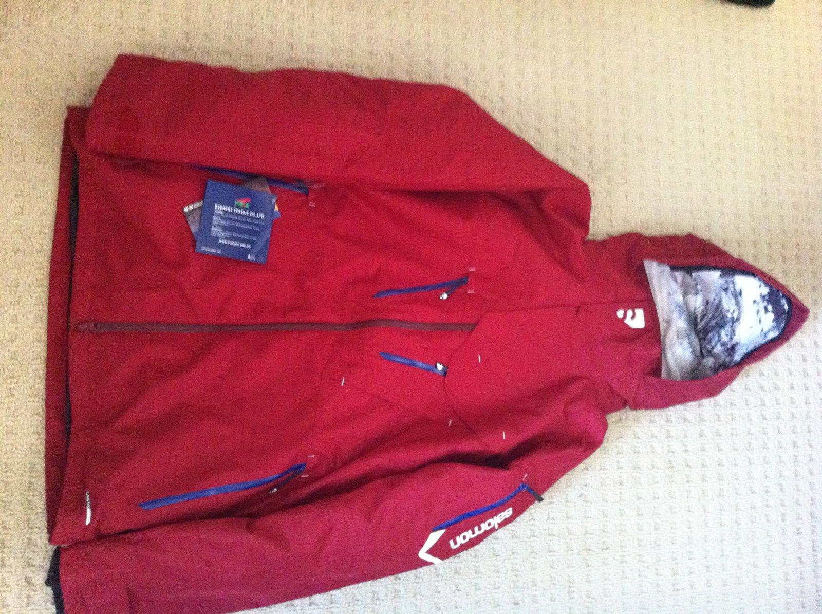 Salomon Mark Abma Jacket
