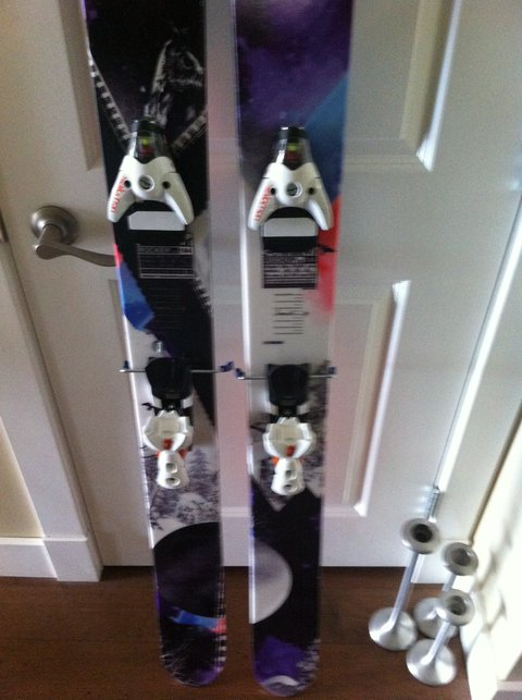 Salomon Rocker 2 122 with STH16 Binding