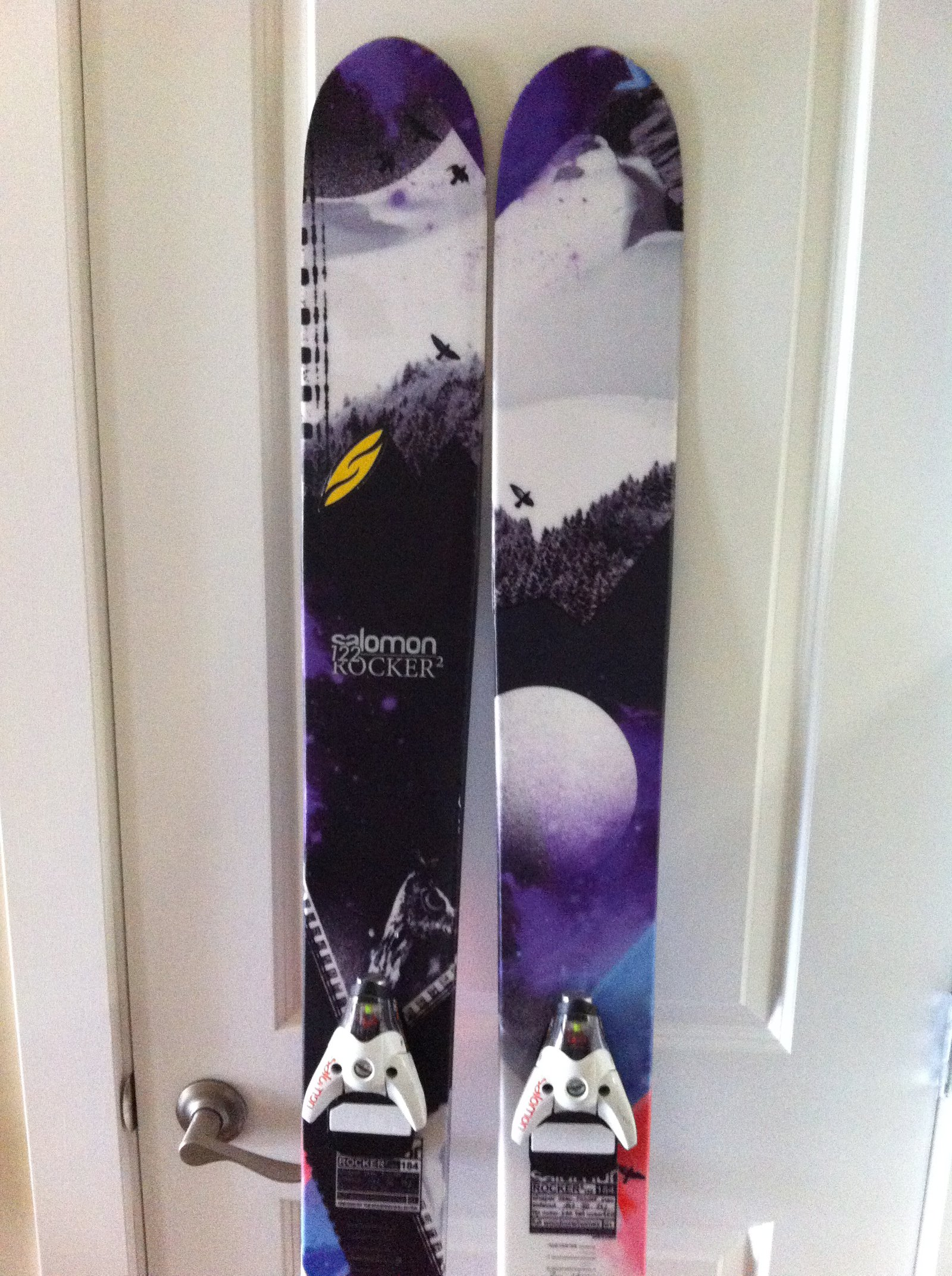 Salomon Rocker 2 122 with STH 16 Bindings