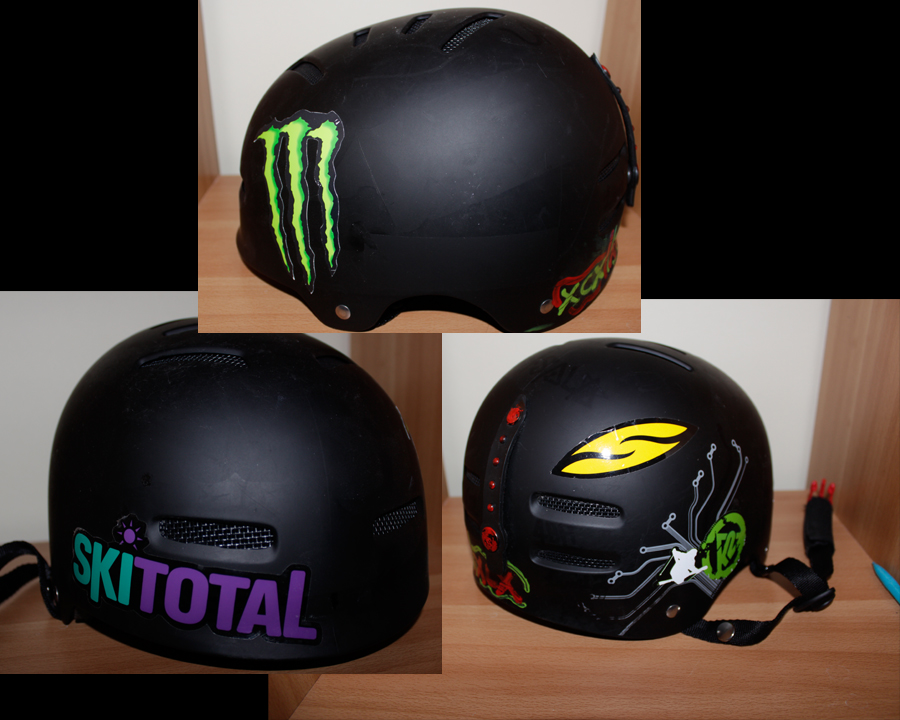 What do you think about stickers on your ski helmet ski gabber newschoolers com