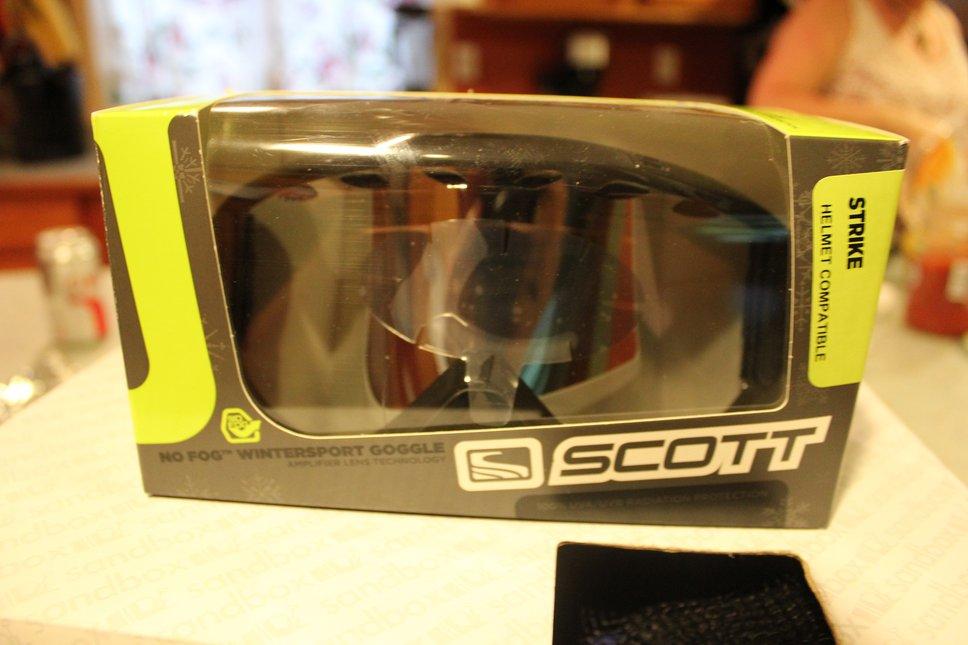 scott goggles new