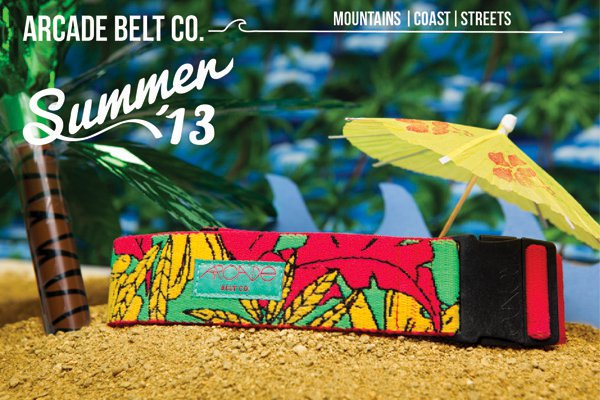 Arcade Belts Launches First Summer Belts Line...and more.