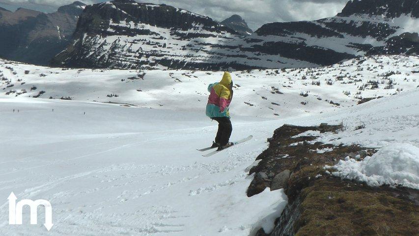 Summer Skiing in Glacier Park