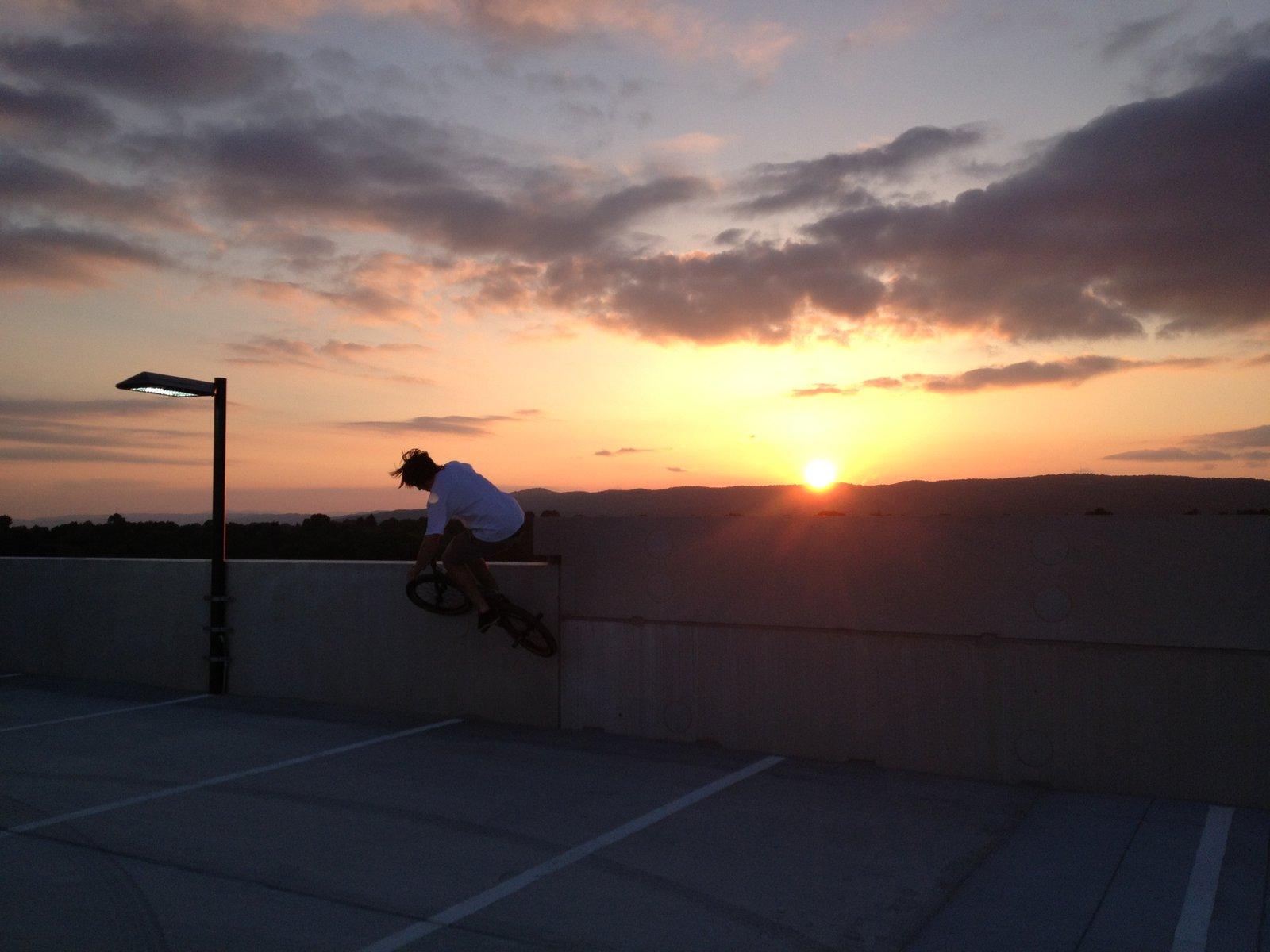 Sunset Wallride