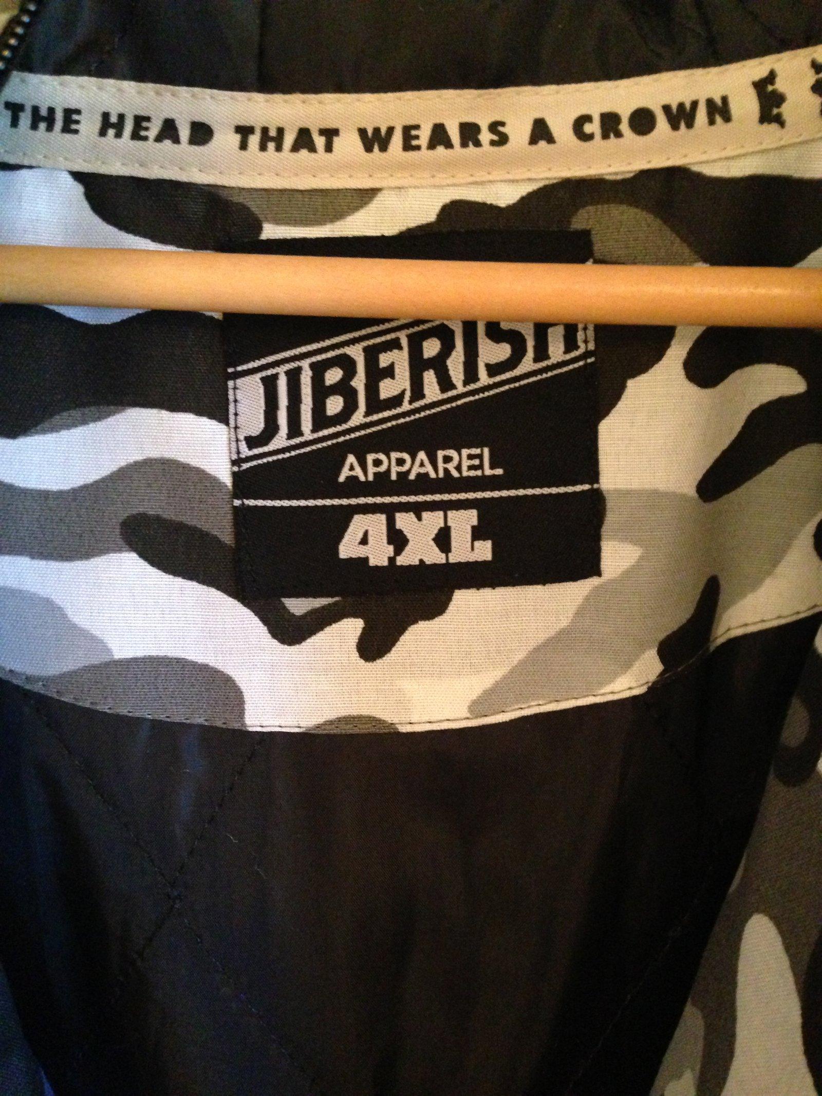 4XL Jiberish Vest